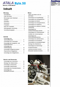 Reparaturanleitung RIS Atala Byte 50 Antrieb und Motor
