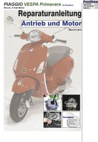 Reparaturanleitung RIS  Piaggio Vespa Primavera 50 4-Takt Antrieb und Motor