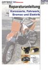 Reparaturanleitung RIS Dirtbike 125 MX 4T Karosserie, Fahrwerk, Bremse und Elektrik