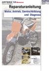 Reparaturanleitung RIS Dirtbike 125 Motocross Motor, Antrieb, Gemischbildung und Diagnose