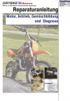 Reparaturanleitung RIS Dirtbike 50 automatische Kupplung Motor, Antrieb, Gemischbildung und Diagnose