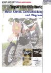Reparaturanleitung RIS Explorer 125 XRX Motocross Motor, Antrieb, Gemischbildung und Diagnose