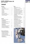 Reparaturanleitung RIS Explorer Kallio 50 2 Takt, Antrieb und Motor
