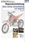 Reparaturanleitung RIS Honda CRF 50F handbetätigte Kupplung Motor, Antrieb, Gemischbildung und Diagnose