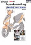 Reparaturanleitung RIS Kreidler Florett RS 2Takt Antrieb und Motor