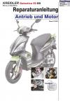 Reparaturanleitung RIS Kreidler Galactica 50 DD 2 Takt Antrieb und Motor