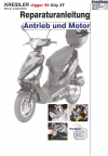 Reparaturanleitung RIS Kreidler Jigger 50 City 2 Takt Antrieb und Motor