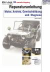 Reparaturanleitung RIS Mini Jeep 125 (manuelle Kupplung) Antrieb und Motor