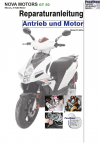 RIS Reparaturanleitung Nova Motors GT 50 Antrieb und Motor