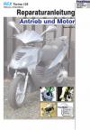 Reparaturanleitung RIS Rex Torino 125 Antrieb und Motor