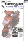 Reparaturanleitung RIS Romet 727 Premium 50 4T Antrieb und Motor