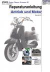 RIS Reparaturanleitung ZNEN Retro Classic Scooter 50, Antrieb und Motor