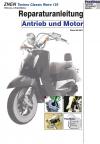 RIS Reparaturanleitung ZNEN Techno Classic Retro 125, Antrieb und Motor
