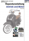RIS Reparaturanleitung Znen ZN 50QT-E25 Antrieb und Motor