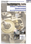 Technische Information China 2 Taktmotor Zylinderschaden